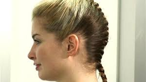 hairstyles for thin braided hair how to french braid with braiding hair image collections