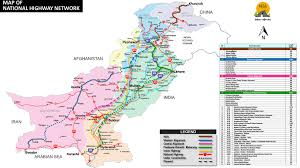 Map Of Pakistan And India by National Highways Authority U2013 Committed To Excellence