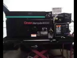 onan rv generator marquis 5000 watt new carb and more 2 450