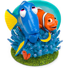 penn plax finding nemo 3 5 in tiki aquarium ornament walmart com