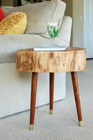World Market Coffee Table Wood Slice Coffee Table Tree Stump Furniture Mid Century Coffee
