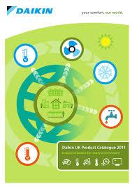 daikin uk product catalogue 2011 by daikin europe n v issuu