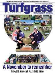 australian turfgrass management journal volume 16 1 january