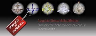 acquisto ladari ladari di murano bottega veneziana produce ladari murano a