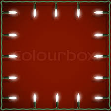 lights frame on background stock vector colourbox
