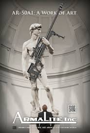 italian museum criticizes armalite for upgrading the statue of david