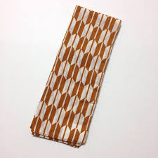 tenugui japanese traditional hemp leaf pattern wrapping cloth