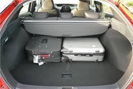 toyota prius luggage capacity toyota prius 2016 road test road tests honest
