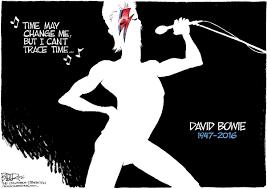 Nate Beeler Cartoons Beeler Cartoon David Bowie Tribute