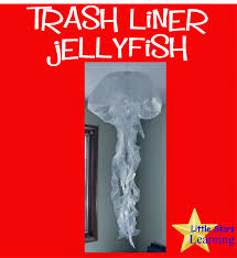 little stars learning jellyfish from trash liners