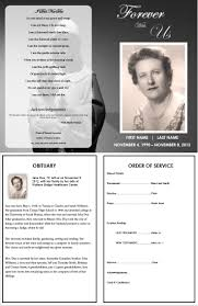 templates for funeral program 30 images of funeral order of service template blank infovia net