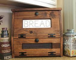 387 Best Rustic Or Primitive Wooden Bread Box Vegetable Or Potato Bin Rustic Wood Storage