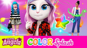 something to tell you talking angela color splash new game