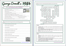 Beginning Middle And End Worksheets Around The World In English Orwell U0027s 1984 Summary Video