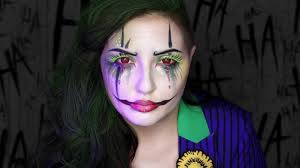 classic joker makeup tutorial spirit halloween youtube