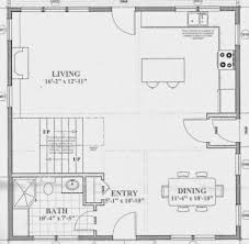 floor plan cottage small open concept house plans plan apartments cottage nice