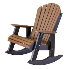 Modern Outdoor Rocking Chairs Heritage Outdoor Fan Back Rocking Chair The Rocking Chair Company