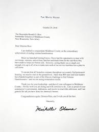 michelle obama congratulates middlesex county on effectively