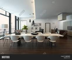 Dining Room Tables For Apartments by Luxury Modern Apartment Living Room Interior With Parquet Floor