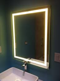 Diy Led Desk Lamp by Led Backlit Mirror Backlit Mirror Backlit Bathroom Mirror And Blog