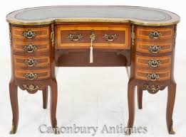 Kidney Bean Desk French Desks Empire Louis Xv Boulle Writing Table Canonbury
