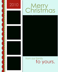 christmas card template open office template business