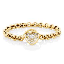 bracelet gold white gold images 19cm 7 5 quot belcher bracelet in 10ct yellow white gold jpg