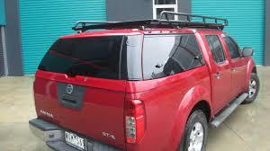 nissan navara customised nissan navara d40 roof racks