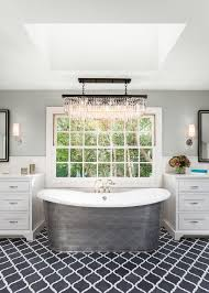 Cast Iron Bathtub Faucets Cast Iron Tub Bathroom Farmhouse With Bright White Traditional