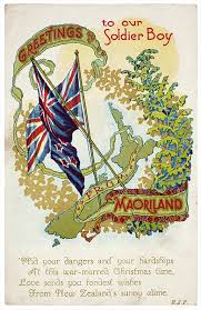 first world war christmas card nzhistory new zealand history online