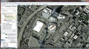 Google Maps Los Angeles Ca by Staple Center Live In Google Earth Youtube