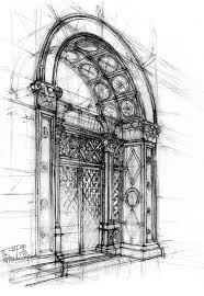 architectural sketch by gabahadatta on deviantart art gallery