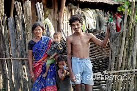 madia tribal family bhamragad maharashtra india madia are one