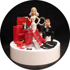 mechanic cake topper car auto mechanic wedding cake topper key groom top tool
