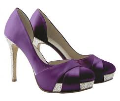 wedding shoes rainbow details about purple satin silver