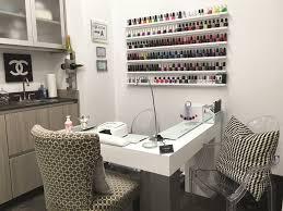 Table Salon Design Interiors Design Salon Suite Design At Cosmic Nails Style Nails Magazine