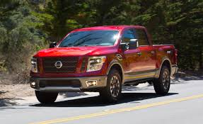japanese nissan pickup 2017 nissan titan first drive u2013 review u2013 car and driver