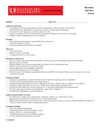 Resume Capitalization Rules 14 Resume Evaluation Forms Free Word Pdf Format Download