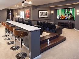 decor for home theater room 40 man stuff for styling and personalizing man cave basement