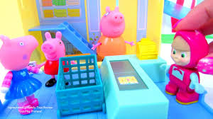 kitty shopping peppa pig grocery store