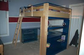 Top Bunk Bed With Desk Underneath Wood Loft Bed With Desk Underneath Top Bunk New Small Beds