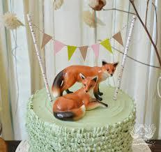 woodland cake toppers woodland baby shower artisan cake company