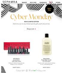 sephora cyber monday 2017 sale perfume deals black friday 2017