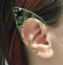 wire ear cuffs elven ear cuffs wire wrap elven ear cuffs by madebykozee