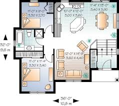 house plans with finished basements plan 21814dr split level with optional finished basement