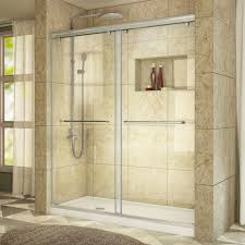 leaking shower door dreamline charisma 56 in to 60 in x 76 in frameless sliding
