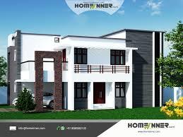 Home Parapet Designs Kerala Style by Flate Model House U2013 Modern House