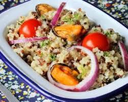 cuisiner moule quinoa diététique aux moules et curry recette les moules