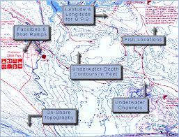 lake pleasant map arizona fishing maps from omnimap the leading international map