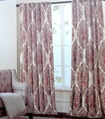 amazon com tahari home paisley scrolls window panels 52 by 96